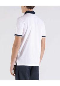 PAUL & SHARK - Biała koszulka polo z bawełny. Typ kołnierza: polo. Kolor: biały. Materiał: bawełna. Styl: klasyczny