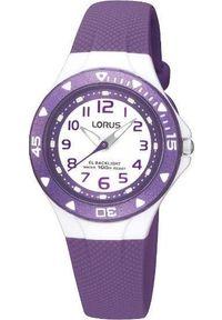 Fioletowy zegarek Lorus