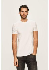 Biały t-shirt Selected
