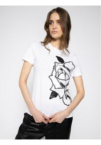 Biały t-shirt Sportmax Code