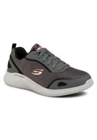 skechers - Skechers Sneakersy 8790087 Szary. Kolor: szary