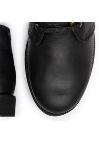 Czarne trapery Panama Jack klasyczne, z cholewką