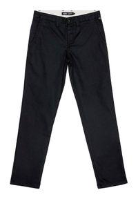 Vans Spodnie materiałowe By Authentic Chino VN0A36ML Czarny Slim Fit. Kolor: czarny. Materiał: materiał