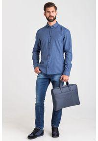 Koszula JOOP! Jeans na lato, na spotkanie biznesowe