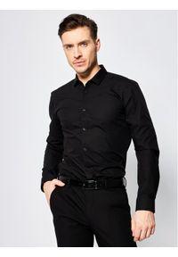 Czarna koszula biznesowa Hugo