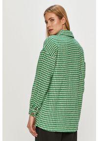 Zielona kurtka Noisy may bez kaptura