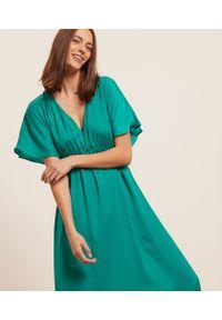 Strale Długa Koszula Nocna - L - Zielony - Etam. Kolor: zielony. Długość: długie