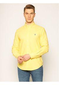 Żółta koszula casual Polo Ralph Lauren polo
