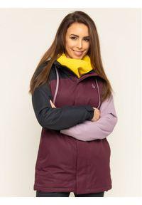 Fioletowa kurtka sportowa Volcom snowboardowa