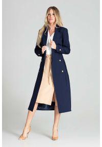 Niebieski płaszcz Figl