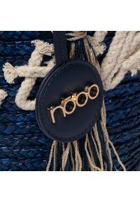 Niebieska torba plażowa Nobo klasyczna