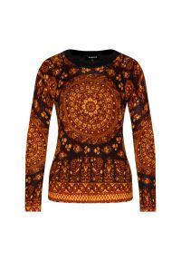 Brązowy sweter Desigual