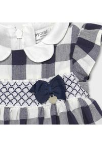Mayoral Sukienka elegancka 1833 Granatowy Regular Fit. Kolor: niebieski. Styl: elegancki