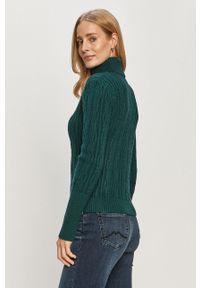 Zielony sweter Haily's na co dzień, casualowy, z długim rękawem