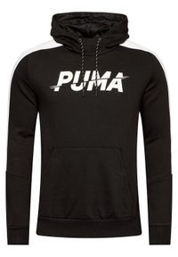 Puma Bluza Modern Sports Hoodie Fl 583480 Czarny Regular Fit. Kolor: czarny