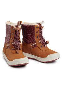 Brązowe buty zimowe keen na spacer