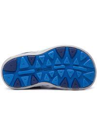 Niebieskie buty sportowe columbia