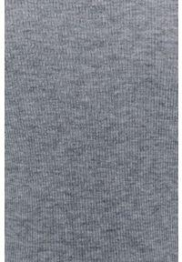 MAX&Co. - Sweter z domieszką wełny. Typ kołnierza: golf. Kolor: szary. Materiał: wełna. Długość rękawa: długi rękaw. Długość: długie