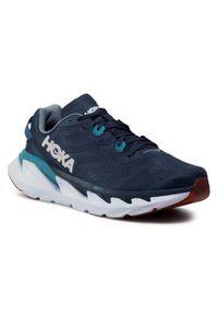 Niebieskie buty do biegania Hoka One One z cholewką