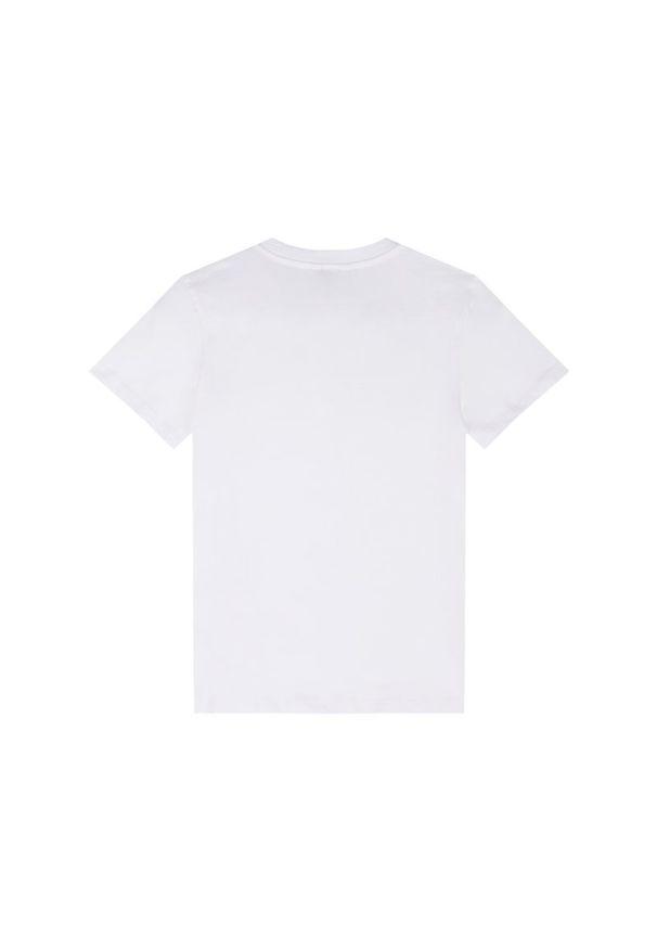 Biały t-shirt Calvin Klein Swimwear