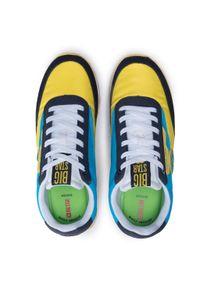 Big-Star - Sneakersy BIG STAR - HH274525 Yellow. Kolor: żółty. Materiał: zamsz, materiał, skóra ekologiczna. Szerokość cholewki: normalna. Obcas: na płaskiej podeszwie