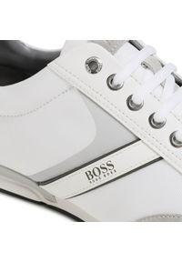 Białe półbuty BOSS