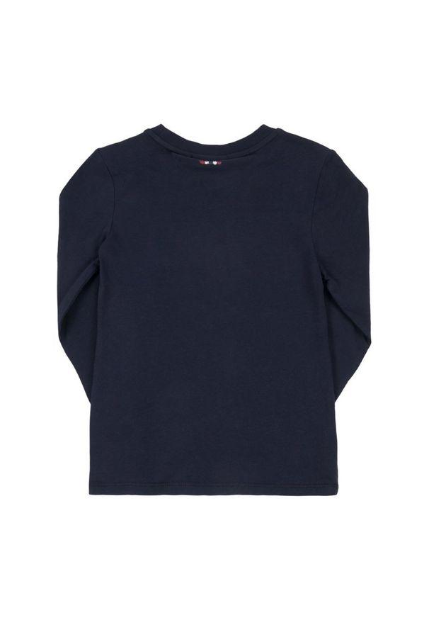 Niebieska koszulka z długim rękawem Napapijri