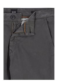 BOSS - Boss Spodnie materiałowe Schino-Taber D 50442037 Szary Tapered Fit. Kolor: szary. Materiał: materiał