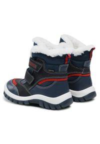 Lasocki Kids - Śniegowce LASOCKI KIDS - CI12-1797-24 Navy. Okazja: na spacer. Kolor: niebieski. Materiał: skóra. Sezon: zima, jesień
