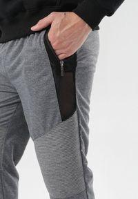 Szare spodnie dresowe Born2be #6