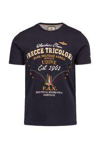 T-shirt Aeronautica Militare klasyczny, z nadrukiem