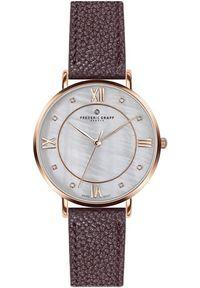 Czerwony zegarek Frederic Graff klasyczny