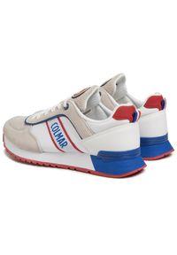 Colmar - Sneakersy COLMAR - Travis Runner 030 White 1. Okazja: na co dzień, na spacer. Kolor: wielokolorowy, biały, beżowy. Materiał: zamsz, materiał, skóra. Szerokość cholewki: normalna. Styl: casual, klasyczny, sportowy