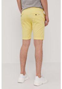 Żółte szorty Pepe Jeans casualowe, na co dzień, gładkie #4