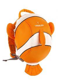LittleLife Plecak Animal Toddler Daysack - Clownfish. Wzór: motyw z bajki, paski. Styl: casual