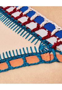 KIINI - Dół od bikini Mila. Kolor: beżowy. Materiał: materiał. Wzór: kolorowy
