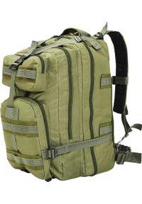 Oliwkowy plecak vidaXL militarny