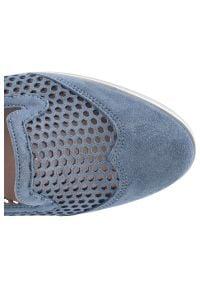 Gamis - Półbuty GAMIS 3070 Niebieski W67. Kolor: niebieski #4