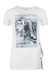 Biały t-shirt Primigi
