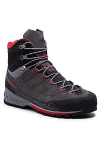 Szare buty trekkingowe Mammut trekkingowe, Gore-Tex