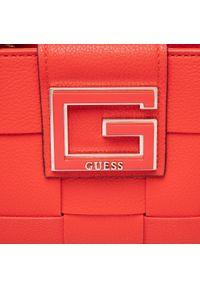 Guess - Torebka GUESS - Liberty City (Eg) HWEG81 35200 POP. Kolor: czerwony. Materiał: skórzane