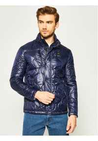 Niebieska kurtka puchowa Blauer