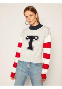 Szary sweter klasyczny Tommy Jeans