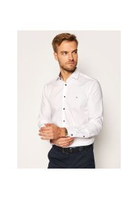 Biała koszula Tommy Hilfiger Tailored