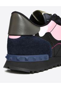 Czarne sneakersy VALENTINO z haftami