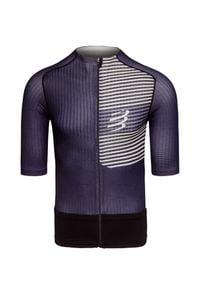 Compressport - Koszulka triathlonowa COMPRESSPORT TRI POSTURAL SS TOP. Materiał: włókno, skóra, materiał, syntetyk. Sport: kolarstwo