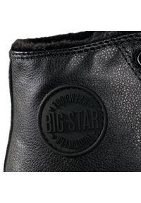 Czarne półbuty Big-Star na co dzień, z cholewką, casualowe #6