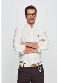 Biała koszula Polo Ralph Lauren długa, na co dzień