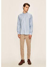 Niebieska koszula Clean Cut Copenhagen długa, button down