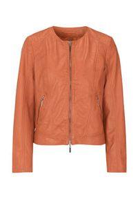 Pomarańczowa kurtka Cellbes krótka, elegancka